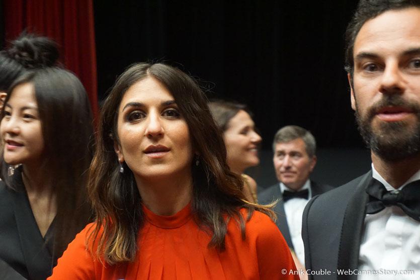 Géraldine Nakache, lors de la cérémonie d'ouverture, du Festival de Cannes 2018 - Photo © Anik Couble