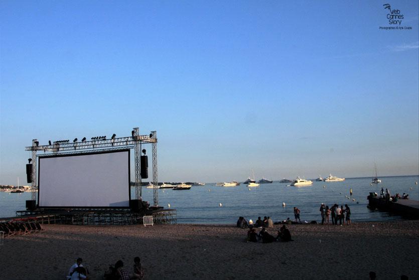 Cinéma de la plage - Festival de Cannes 2011 - Photo © Anik Couble