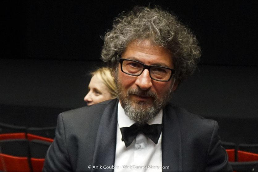 Radu Mihaileanu, lors de la projection du film, Les Filles du soleil (Girls of the sun) d'Eva Husson, présenté en sélection officielle, lors du Festival de Cannes 2018 - Photo © Anik Couble