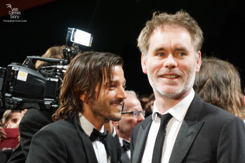 """Jean-François Richet, lors de la projection de son film """"Blood Father"""" avec Mel Gibson et Erin Moriarty  - Festival de Cannes 2016 - Photo © Anik Couble"""