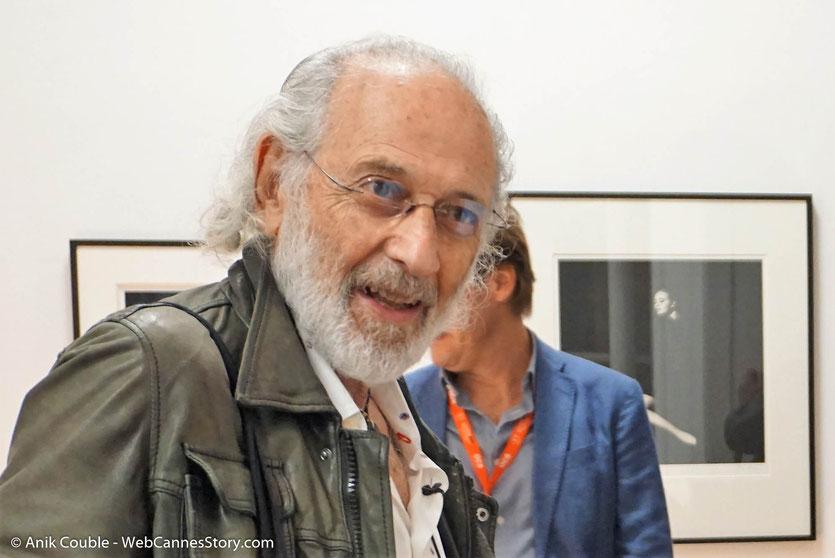 Jerry Schatzberg, réalisateur américain et ancien photographe de mode, lors du vernissage de son exposition, consacrée à de Bob Dylan et installée pendant le Festival Lumière 2018 - Lyon - Photo © Anik Couble