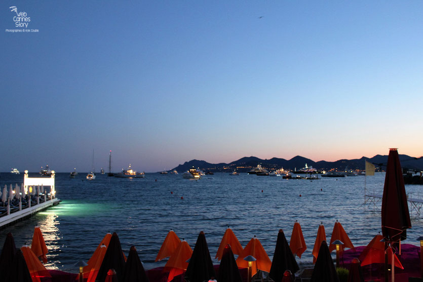 Plage de l'hôtel Martinez - Festival de Cannes 2011 - Photo © Anik Couble