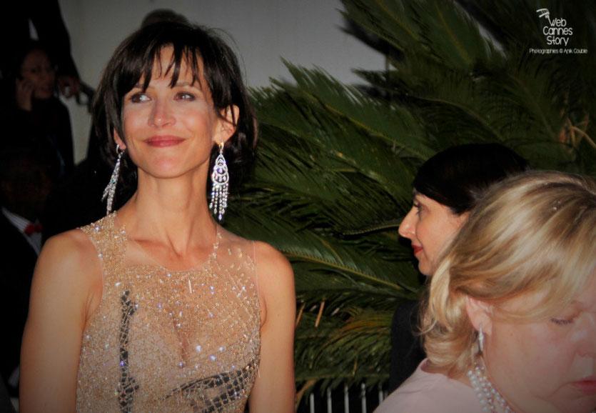 Sophie Marceau -  membre du Jury - Festival de Cannes 2015  - Photo © Anik Couble