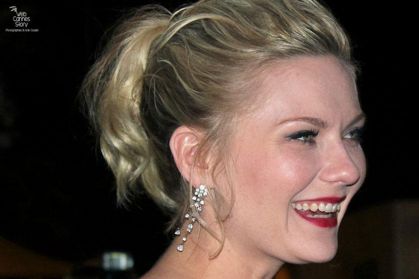 Kirsten Dunst, Prix d'interprétation féminine - Festival de Cannes 2011 - Photo © Anik Couble