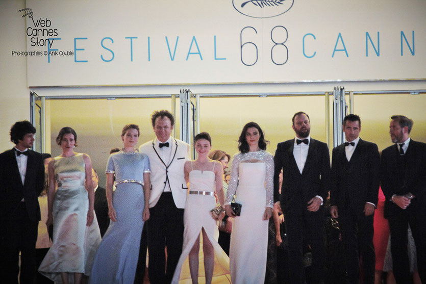 "L'équipe du film ""The Lobster"" de Yorgos Lanthimos - Festival de Cannes 2015 - Photo © Anik COUBLE"