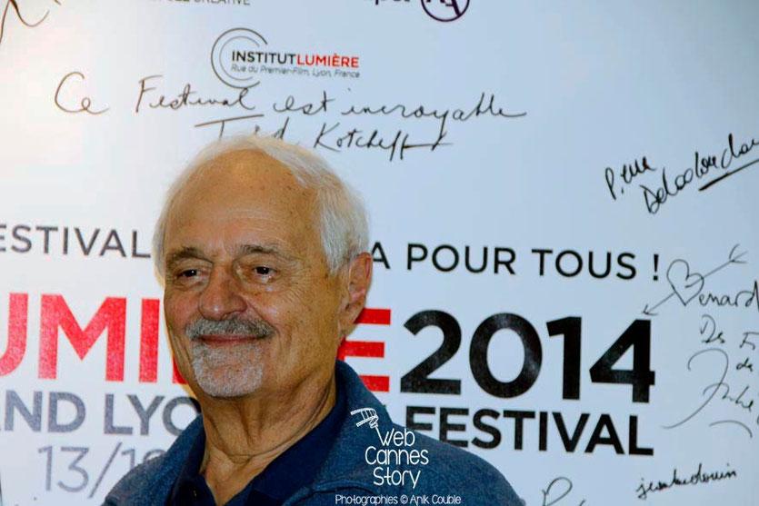 Ted Kotcheff,  réalisateur de Rambo - Festival Lumière - Lyon - Octobre 2014 - Photo © Anik COUBLE