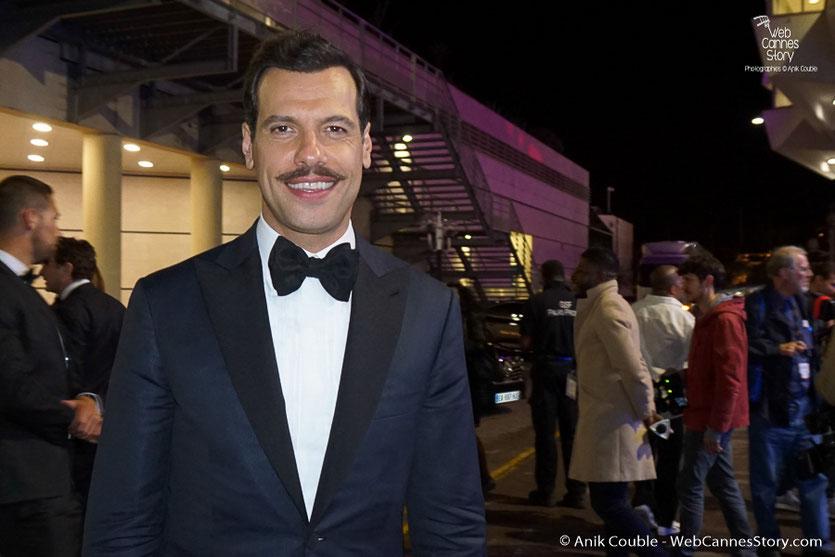Laurent Lafitte, maître de cérémonie - Festival de Cannes 2016 - Photo © Anik Couble