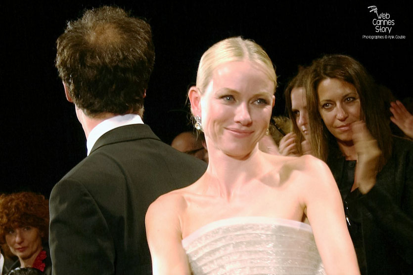 "Naomi Watts, lors de la projection de "" Fair Game "" de Doug Liman - Festival de Cannes 2010 - Photo © Anik Couble"