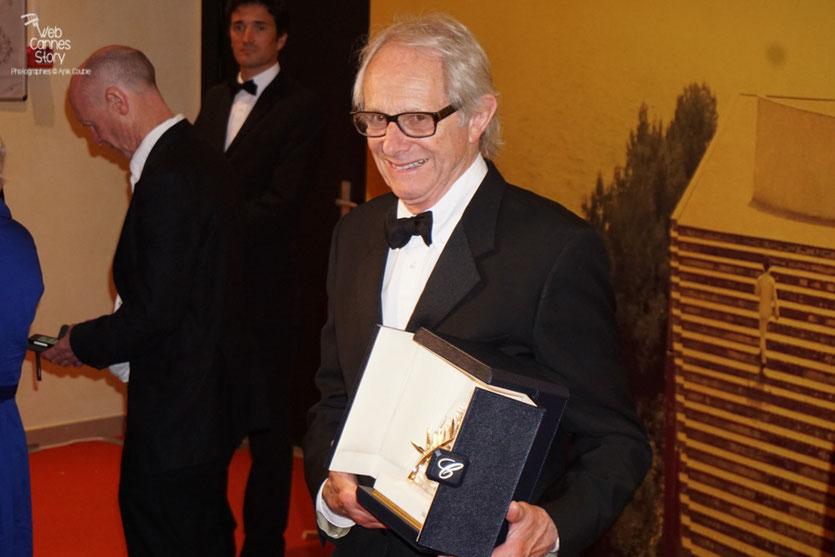 """Ken Loach - Palme d'or pour """"Moi, Daniel Blake"""" - Festival de Cannes 2016 - Photo © Anik Couble"""