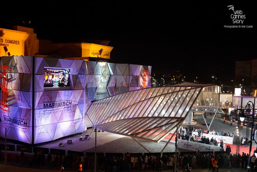 Le Palais des Congrès - Festival de Marrakech  2015 - Photo © Anik Couble