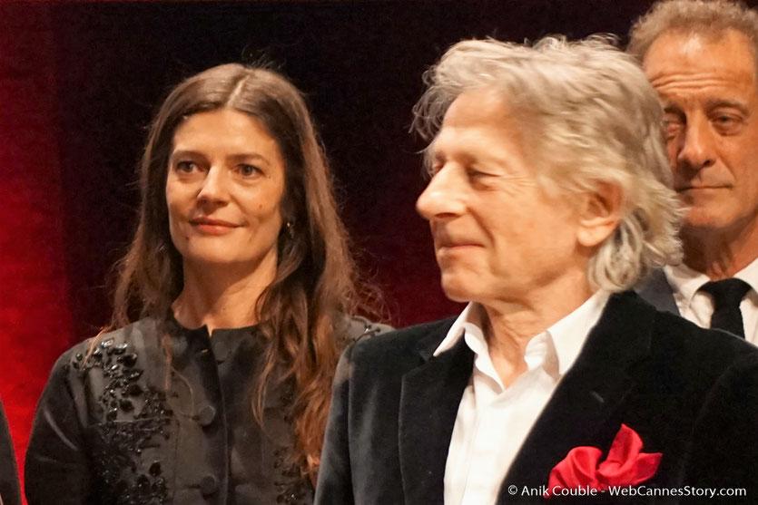 Chiara Mastroïanni, Roman Polanski et Lambert Wilson - Cérémonie de remise du Prix Lumière - Amphitheâtre 3000 - Lyon - Oct 2016  - Photo © Anik Couble