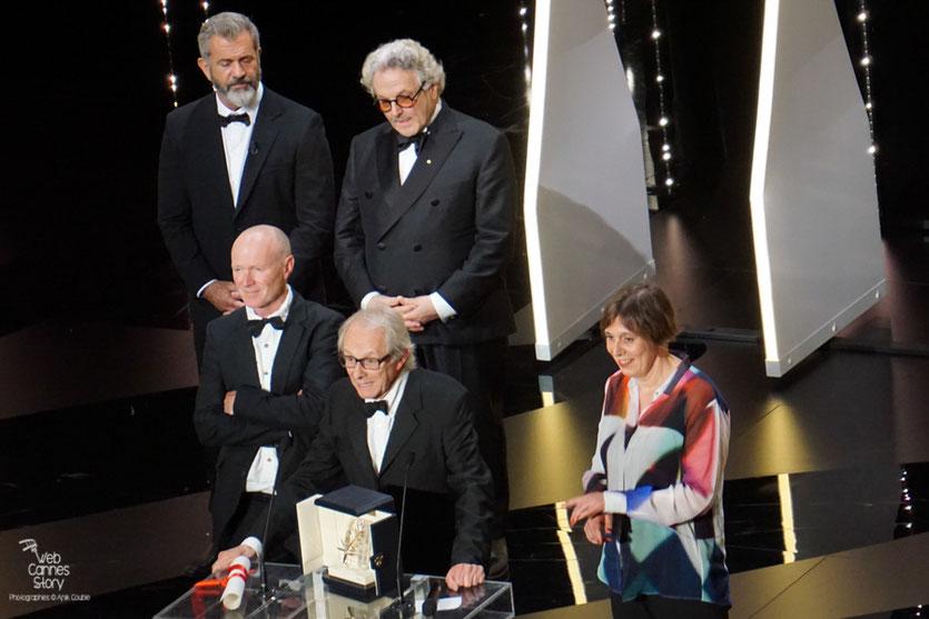 """Ken Loach remporte  sa 2ème Palme d'or pour """"Moi, Daniel Blake"""" - Festival de Cannes 2016 - Photo © Anik Couble"""