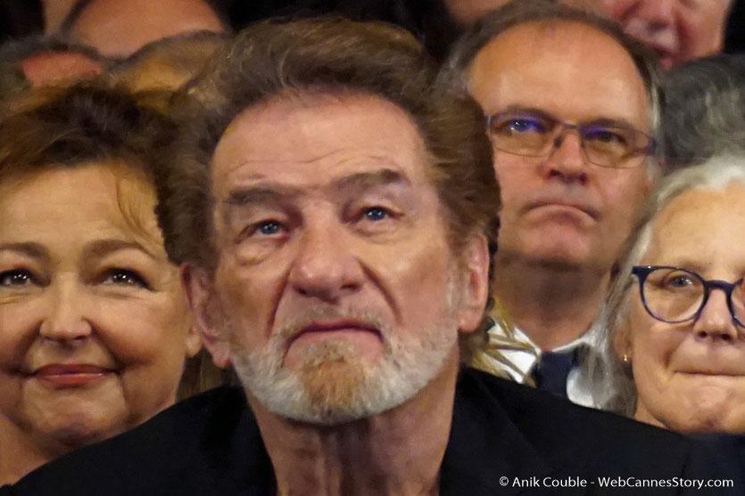 Eddy Mitchel, parmi les invités de la Halle Tony, lors de la cérémonie d'ouverture du  Festival Lumière 2017 - Lyon - Photo © Anik Couble