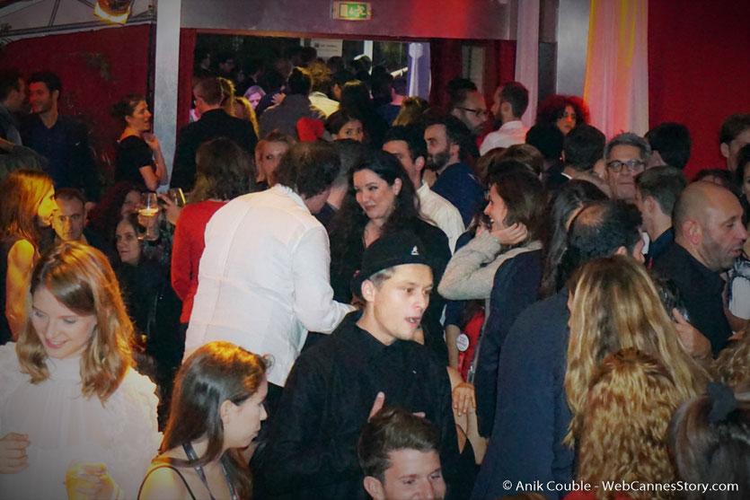 Les retrouvailles de Quentin Tarantino et Emilie Ligier à La Plateforme - Festival Lumière 2016 - Lyon - Photo © Anik Couble