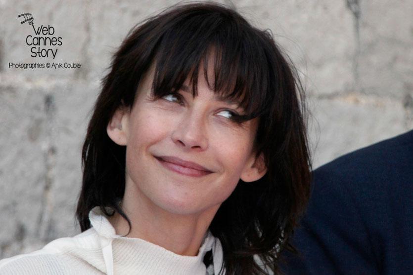 Sophie Marceau, membre du Jury , lors du déjeuner de presse, offert par le maire de Cannes - Festival de Cannes 2015 - Photo © Anik COUBLE