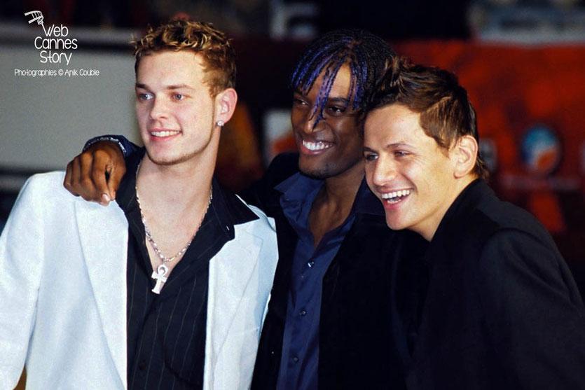 M Pokora, membre des Linkup - NRJ Music Awards  2004 - Cannes - Photo © Anik COUBLE