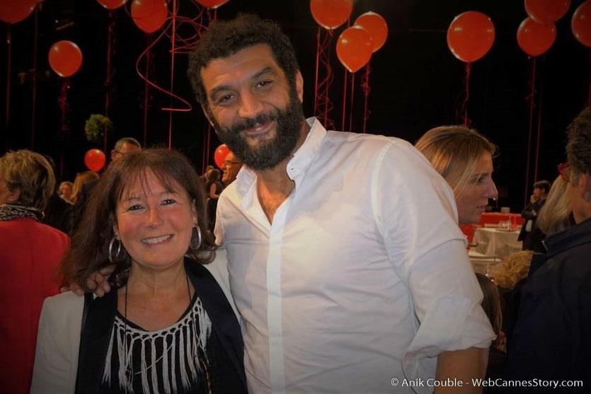 En compagnie de Ramzy Bedia - Dîner d'ouverture  - Festival Lumière 2016 - Lyon - Photo © Anik Couble