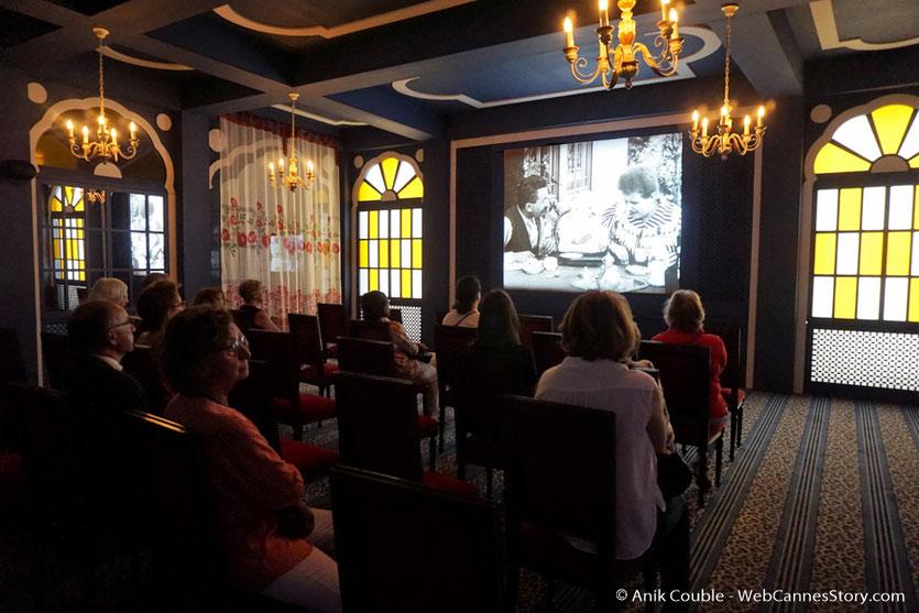 Le salon indien - Exposition -  Lumière !  Le cinéma inventé - Musée des  Confluences - Lyon - juin 2017 - Photo © Anik Couble