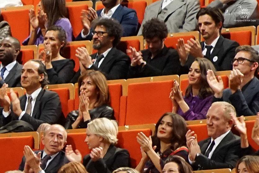 Les nombreux invités  Remise du Prix Lumière à Martin Scorsese - Festival Lumière - Lyon - Oct 2015 - Photo © Anik COUBLE