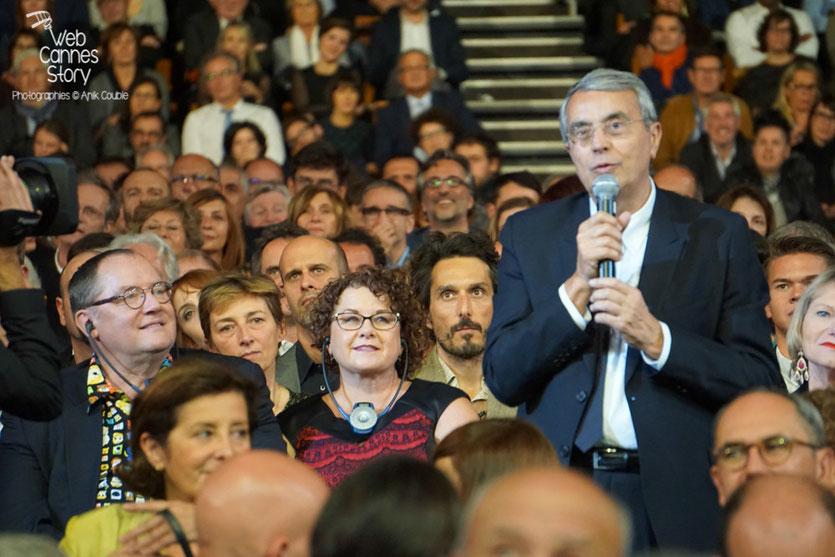 Jean-Jack Queyranne, lors de la cérémonie d'ouverture du Festival Lumière 2015 - Lyon - Photo © Anik COUBLE