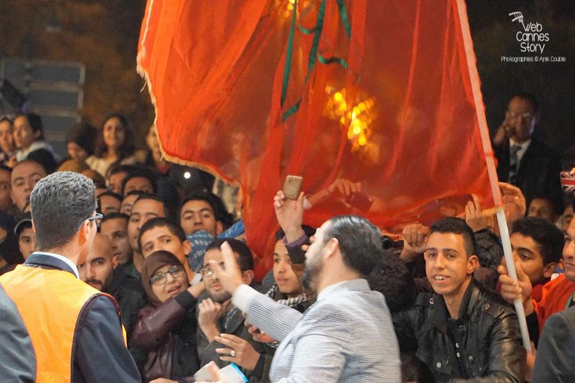 Le public marocain, lors de la Clôtue du  estival de Marrakech  2015 - Photo © Anik Couble