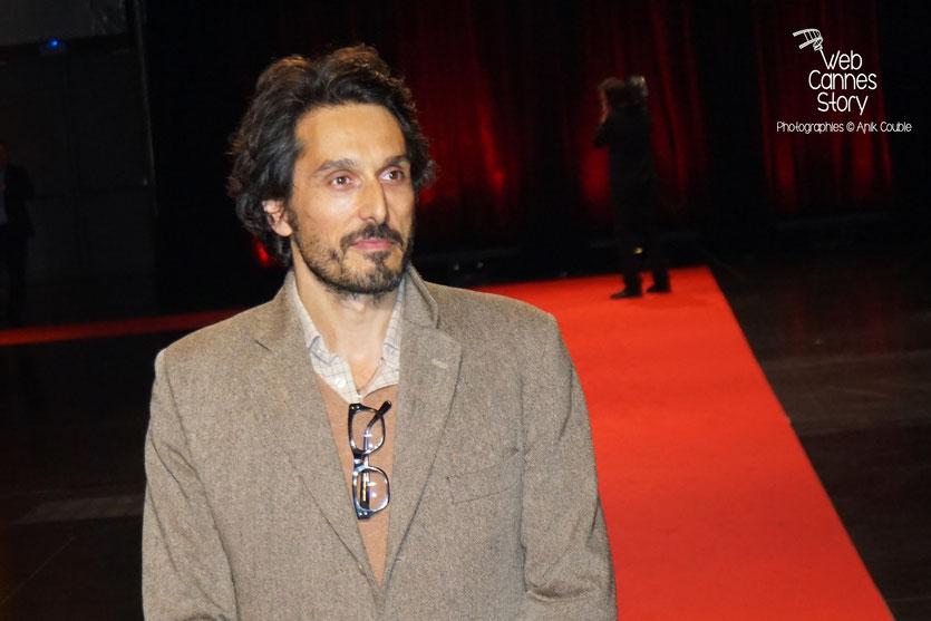 Vincent Elbaz, lors de la cérémonie d'ouverture du Festival Lumière 2015 - Lyon - Photo © Anik COUBLE