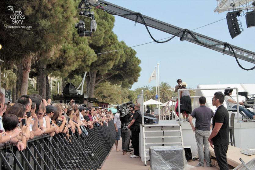 Skype The Use, au Grand Journal de Canal + - Festival de Cannes 2012 - Photo  © Anik Couble