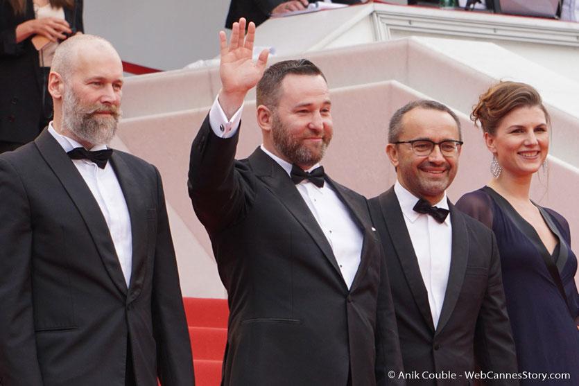 """L'équipe du film """"Faute d'amour"""" d'Andrey Zvyagintsev - Festival de Cannes 2017 - Photo © Anik Couble"""
