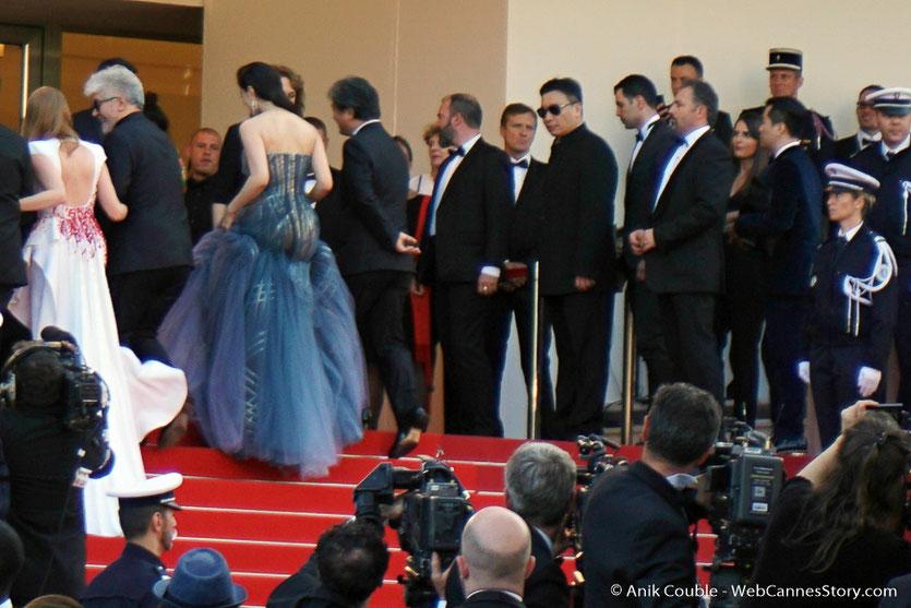 Montée des marches du Jury, pour assister à la cérémonie de clôture du 70e Festival de Cannes - Festival de Cannes 2017 - Photo © Anik Couble