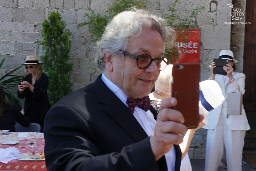 George Miller, Président du Jury, lors du déjeuner de presse - Festival de Cannes 2016 - Photo © Anik Couble