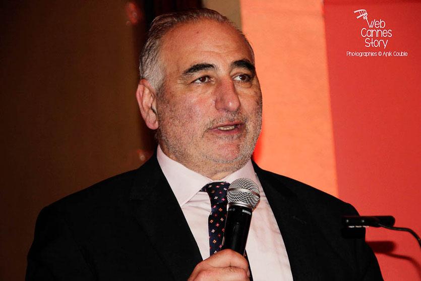Georges Kepenekian, 1er adjoint au Maire de Lyon, délégué à la Culture - Quais du Polar 2014 - Lyon - Photo © Anik COUBLE