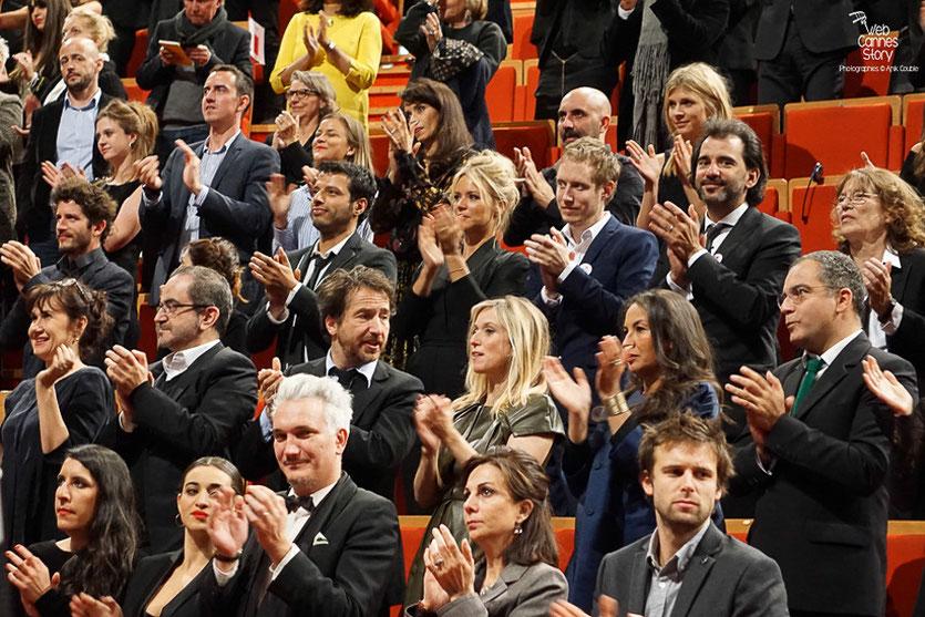 Les nombreux invités, Remise du Prix Lumière à Martin Scorsese - Festival Lumière - Lyon - Oct 2015 - Photo © Anik COUBLE