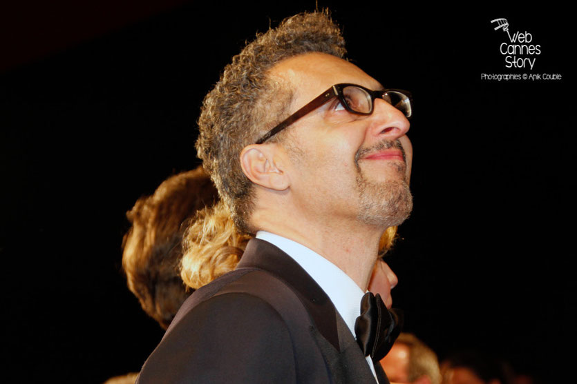 "John Turturro, lors de la projection du film ""Mia Madre"" de Nanni Moretti - Festival de Cannes 2015 - photo © Anik COUBLE"