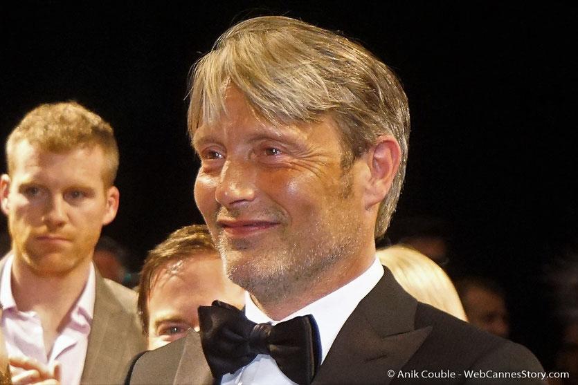 Mads Mikkelsen, lors de la projection du film Arctic de Joe Penna, présenté en séance spéciale - Festival de Cannes 2018 - Photo © Anik Couble