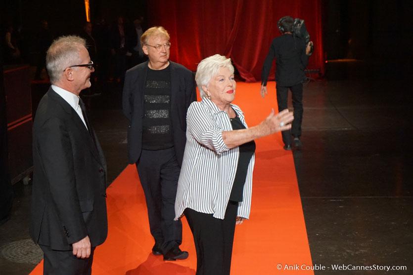 Line Renaud - Cérémonie d'ouverture - Festival Lumière 2016 - Lyon - Photo © Anik Couble