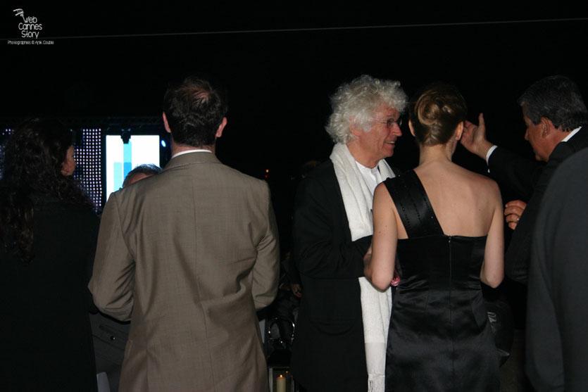 """Jean-Jacques Annaud, lors de la soirée du film """" La Princesse de Montpensier """" de Bertrand Tavernier - Plage de l'Hôtel Majestic - Festival de Cannes 2010 - Photo © Anik Couble"""