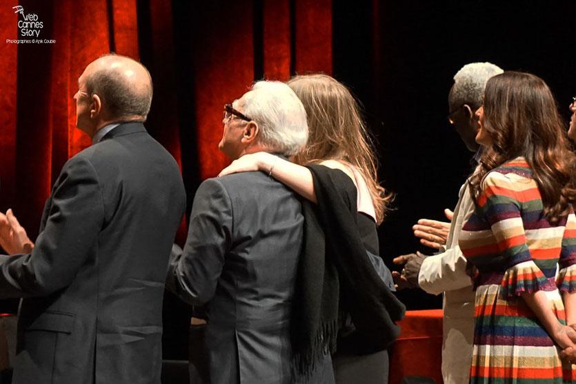 Martin Scorsese et  sa fille Francesca, Prix Lumière - Festival Lumière - Lyon - Oct 2015 - Photo © Anik COUBLE