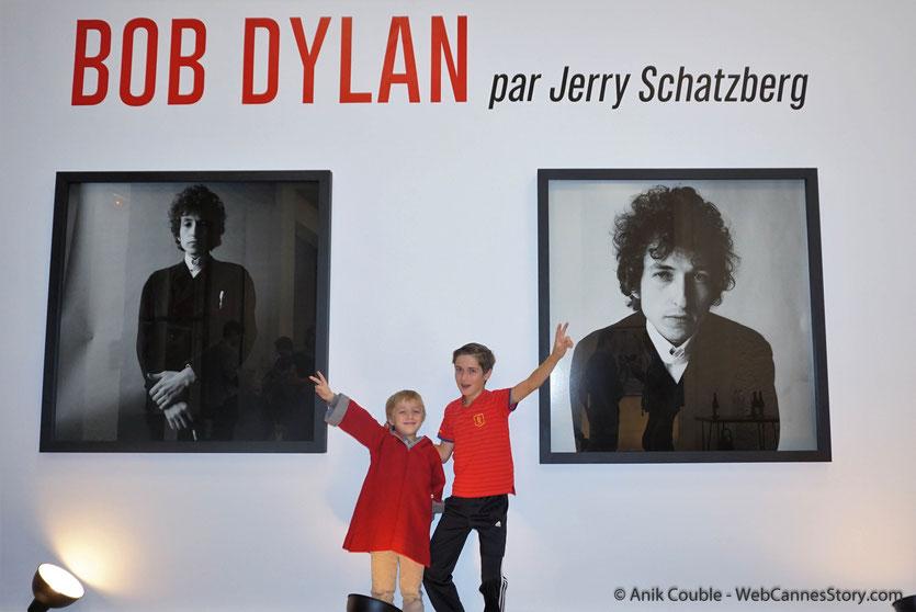 Vernissage de l'exposition  du réalisateur américain et ancien photographe de mode, Jerry Schatzberg,  consacrée à de Bob Dylan et installée pendant le Festival Lumière 2018 - Lyon - Photo © Anik Couble