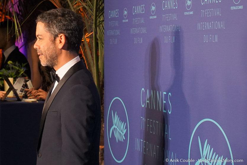Manu Payet - Soirée d'ouverture - Festival de Cannes 2018  - Photo © Anik Couble
