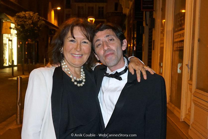 Ma  belle rencontre avec  Marcello Fonte, l'acteur principal, du film, Dogman, de Matteo Garrone, présenté, le 16 mai  2018, en sélection officielle - Festival de Cannes 2018 - Photo © Anik Couble