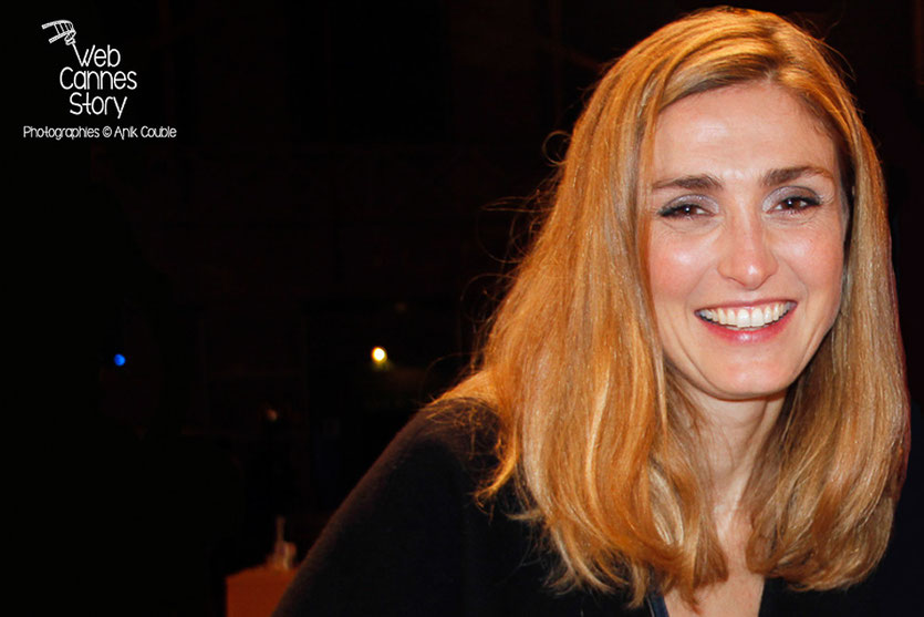 Julie Gayet - Lyon - Ouverture du Festival Lumière 2014 - Photo © Anik COUBLE