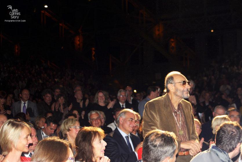 Stanley Donen, au milieu du public - Cérémonie d'ouverture du Festival Lumière - Lyon - Oct 2010 - Photo © Anik COUBLE