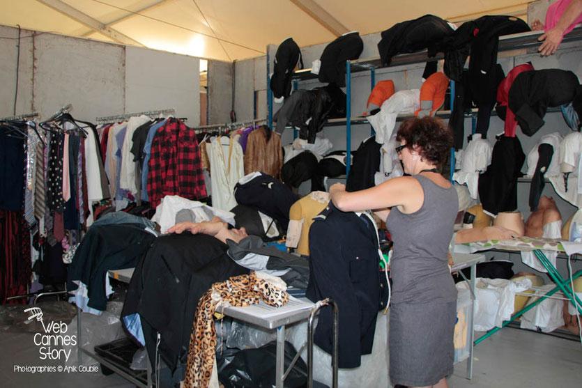 Le dressing des Guignols de l'info - Festival de Cannes 2012  © Anik COUBLE