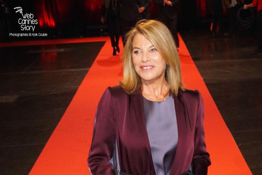 Nicole Calfan, lors de la cérémonie d'ouverture du Festival Lumière 2015 - Lyon - Photo © Anik COUBLE