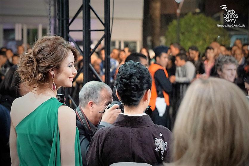 Olga Kurylenko et  Naomi Kawase, membres du Jury -  Festival de Marrakech  2015 - Photo © Anik Couble