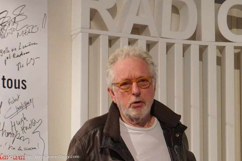 """Hugh Hudson, invité  de """"La Grande Emission"""" de Radio Lumière - Festival Lumière 2017 - Lyon - Photo © Anik Couble"""