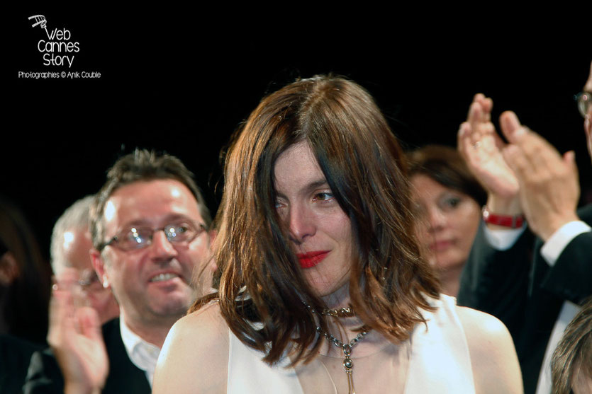 "Valérie Donzelli, lors la projection de son film ""Marguerite et Julien""  -  Festival de Cannes 2015 - Photo © Anik COUBLE"