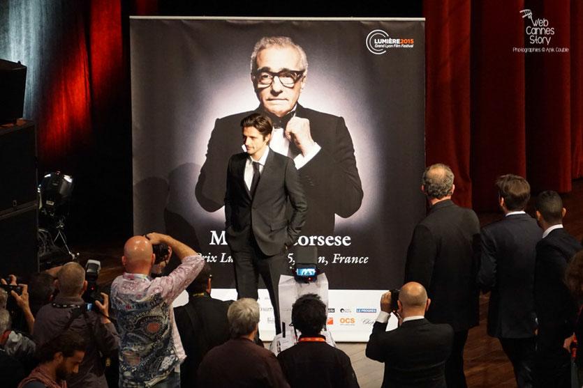 Raphaël Personnaz - Remise du Prix Lumière à Martin Scorsese  - Festival Lumière - Lyon - Oct 2015 - Photo © Anik COUBLE