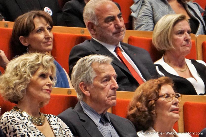 Jane Fonda et Costa Gavras, au milieu des invités de la Cérémonie de Remise du Prix Lumière - Festival Lumière 2018 - Lyon - Photo © Anik Couble