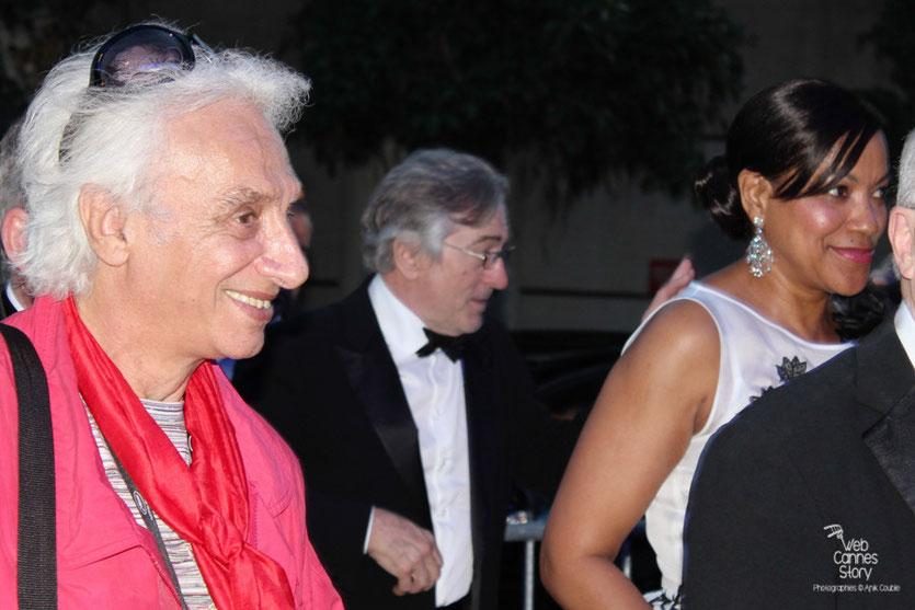 Robert de Niro, Président du Jury et son épouse - Festival de Cannes 2011 - Photo © Anik Couble